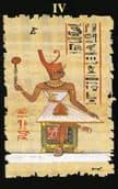 Tirada de tarot egipcio